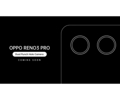 Oppo Reno 3 Pro, First 44MP Dual Punch Hole Camera Phone