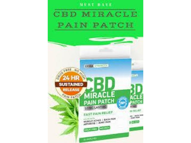 Whate are the ingredients used in CBD Miracle Pain Patch